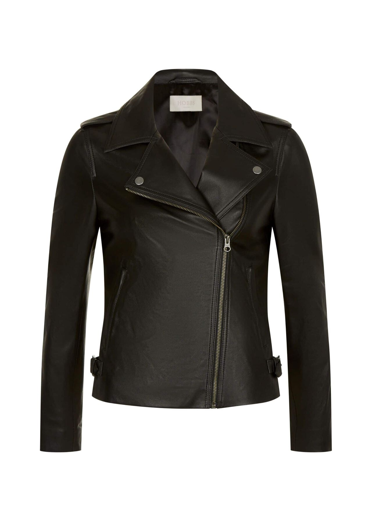 Tamika Leather Jacket Black