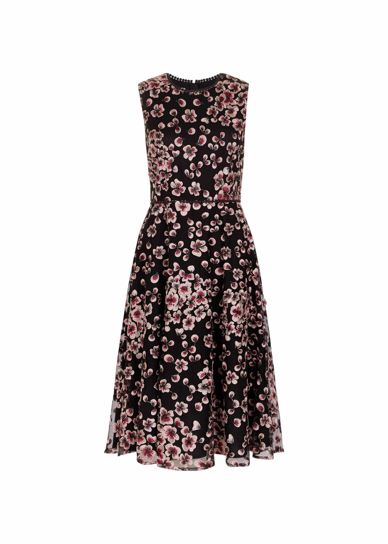 Lilith Dress Pink Black