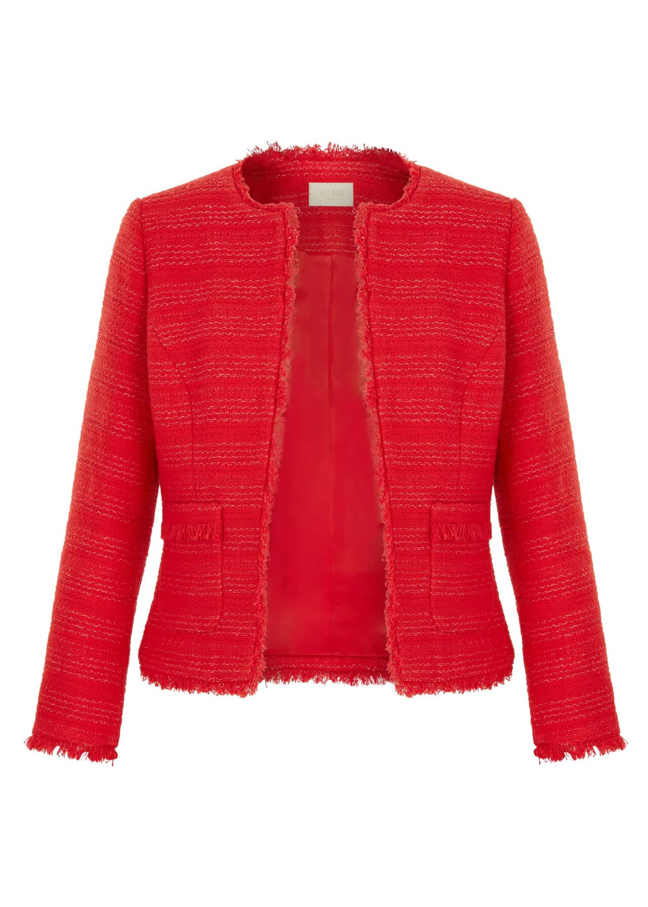 Kathleen Jacket Raspberry Red