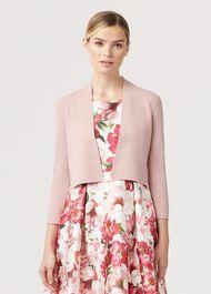 Abbey Cardigan, Pale Pink, hi-res