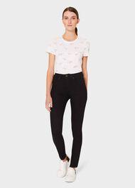 Pixie Printed T-Shirt, Ivory Black, hi-res