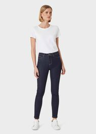 Gia Sculpting Jean, Indigo, hi-res