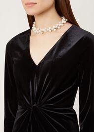 Ivy Necklace, Pearl, hi-res