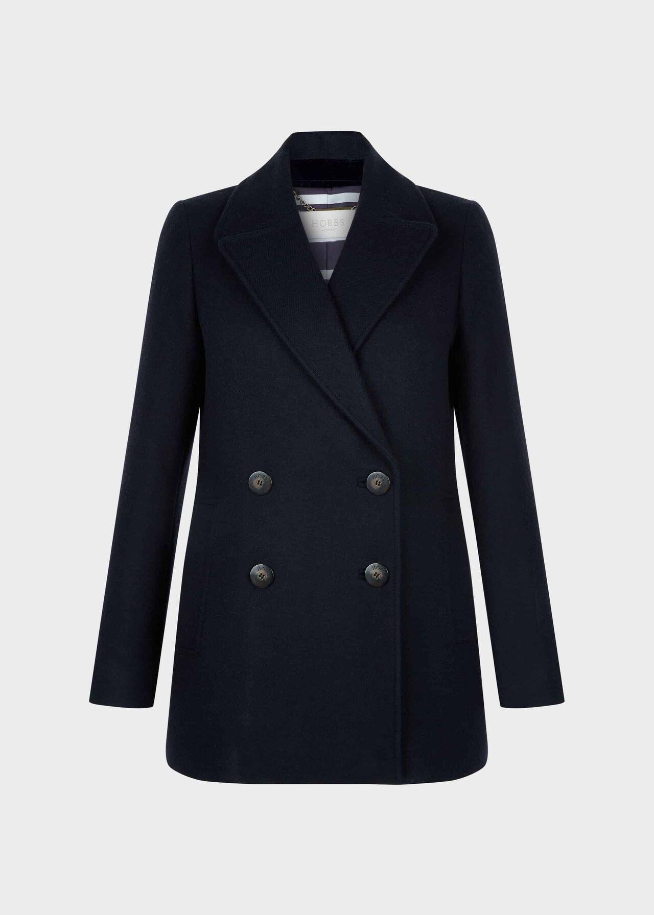 Fran Coat Navy
