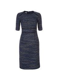 Florrie Dress, Navy Multi, hi-res