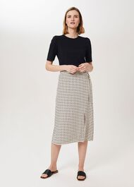 Joelle Midi Skirt, Natural Multi, hi-res