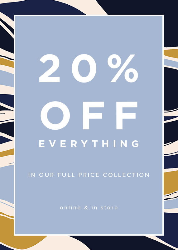 Hobbs 20% Off Everything Full Price