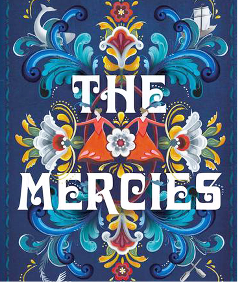 The beautiful cover of The Mercies bu Kirian Milwood Hargrave