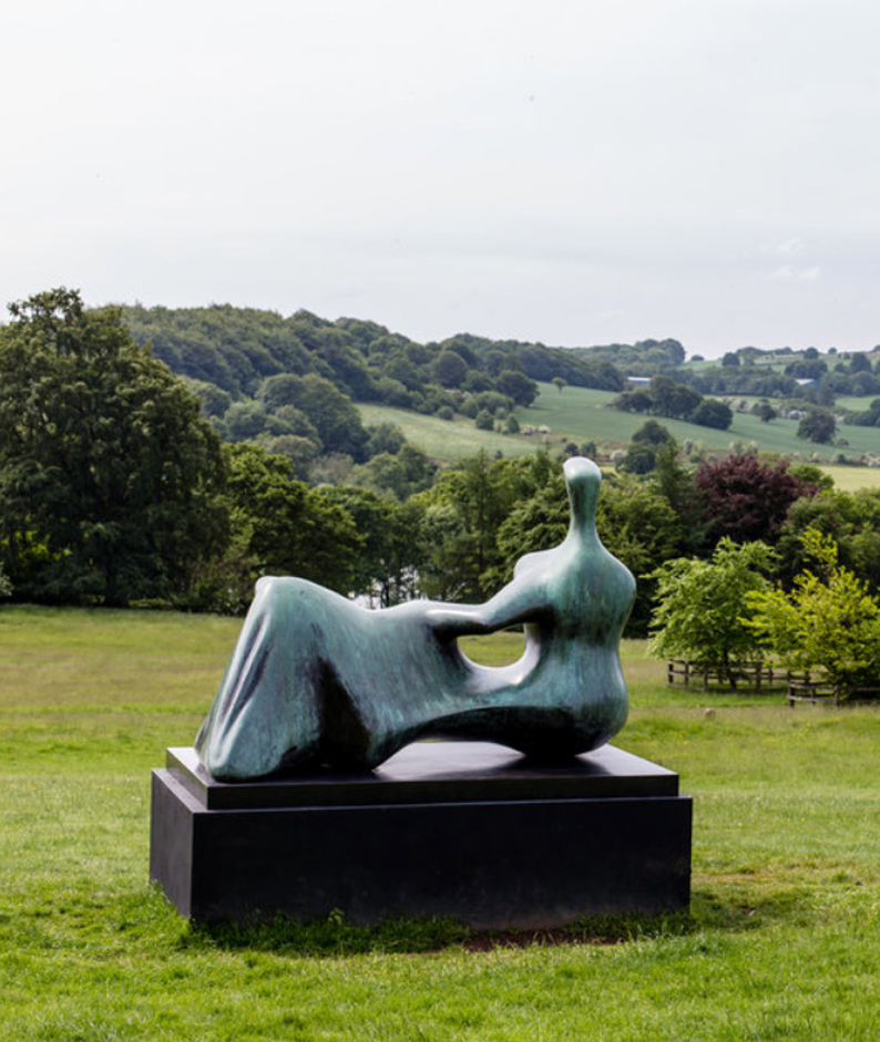 Enjoy the arts alfresco amongst the Yorkshire countryside at the Yorkshire sculpture par