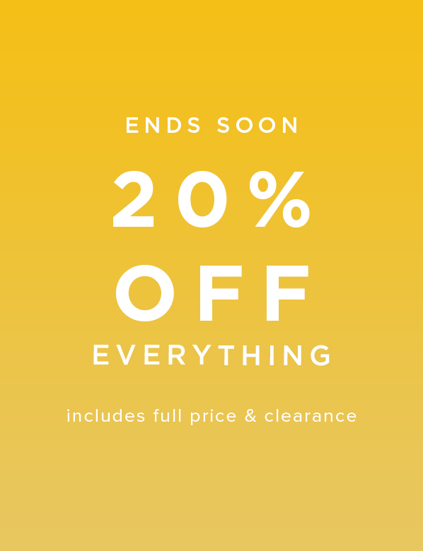 20% Off All Clothing