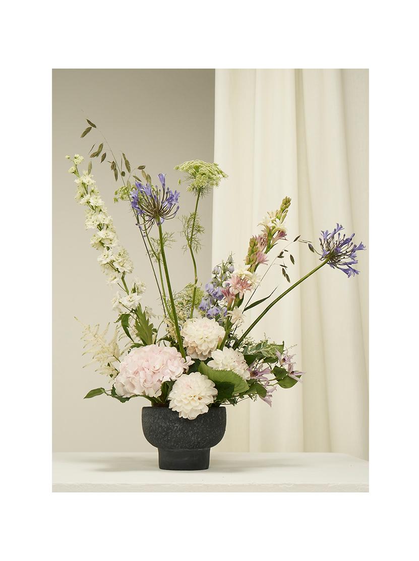 A floral arrangement.
