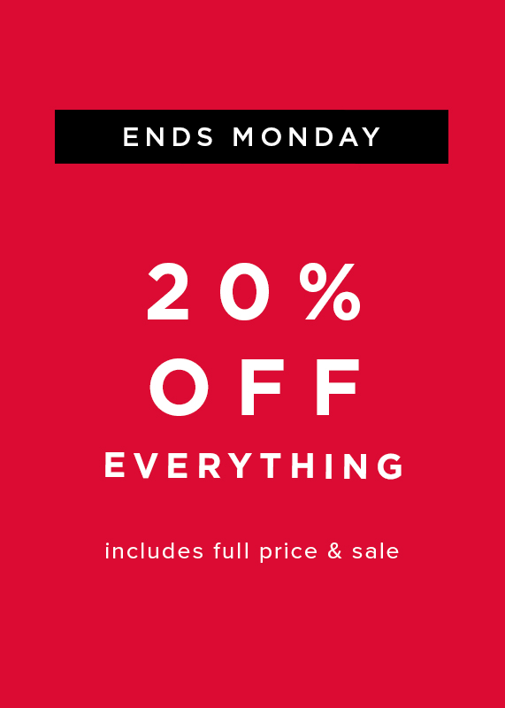 Hobbs Extra 20% Off Everything ends monday