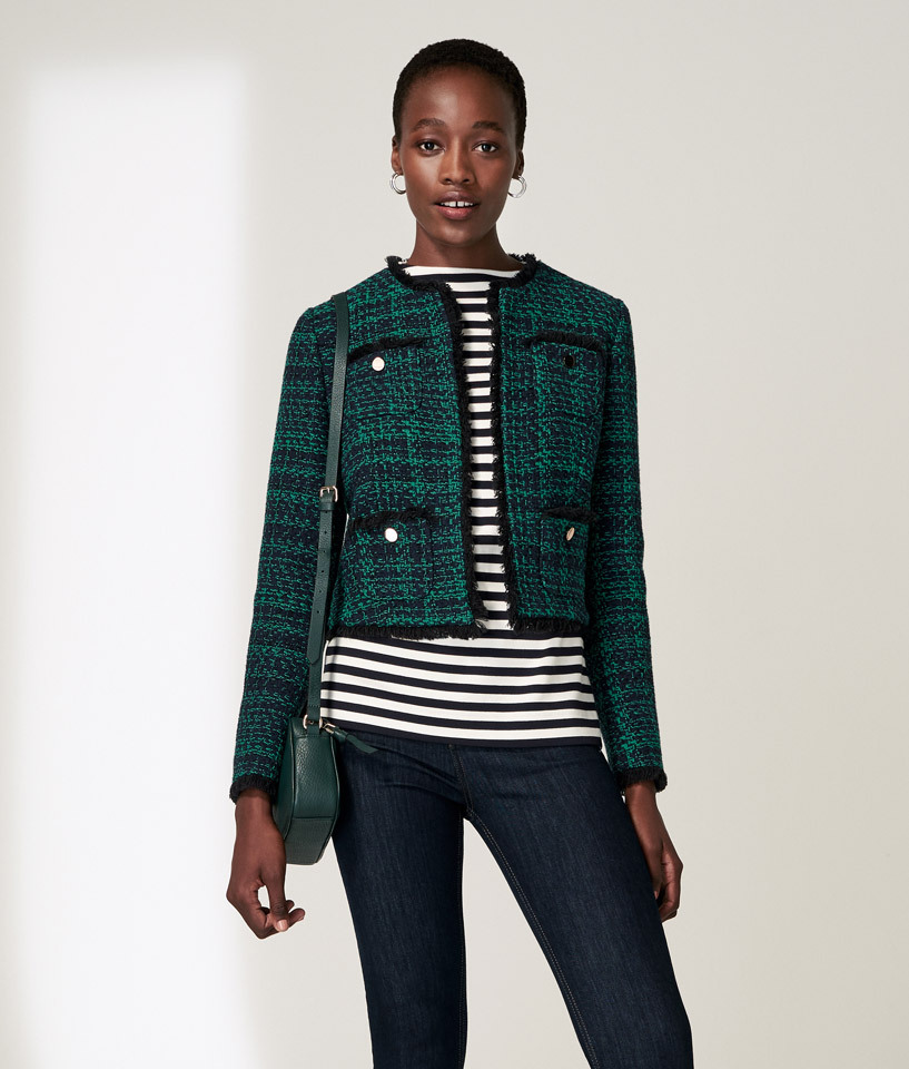 New Green Tweed Jacket Outfit
