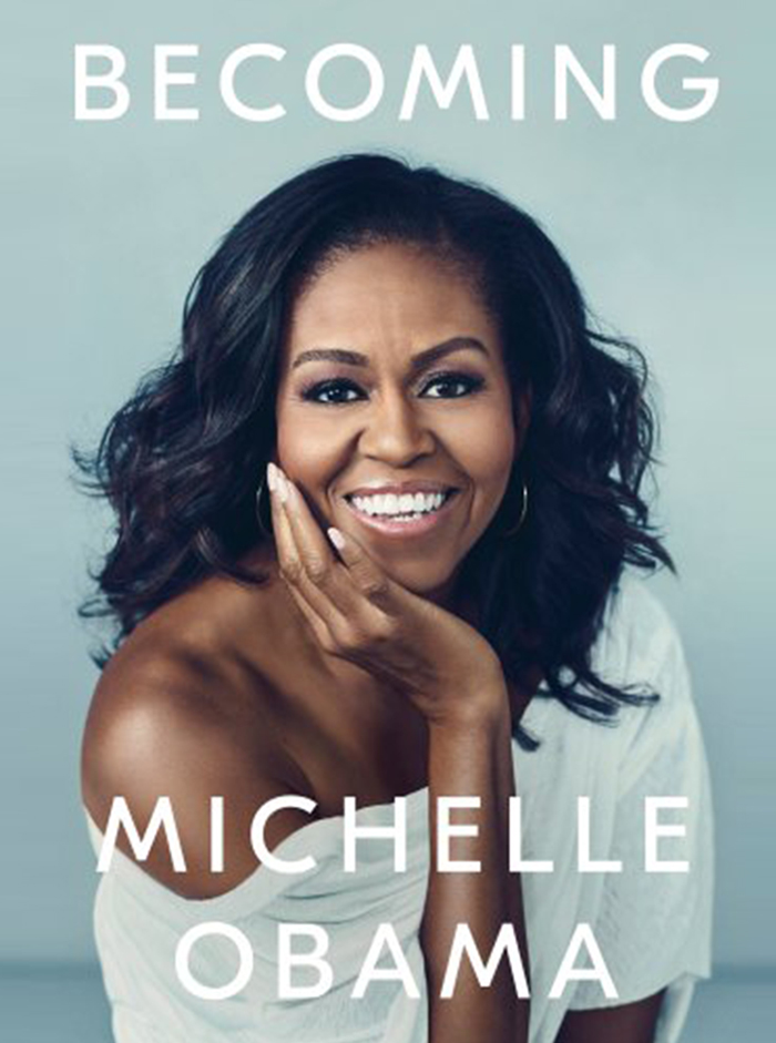 Iconic first lady Michelle Obama, inspires us in Becoming, her memoir