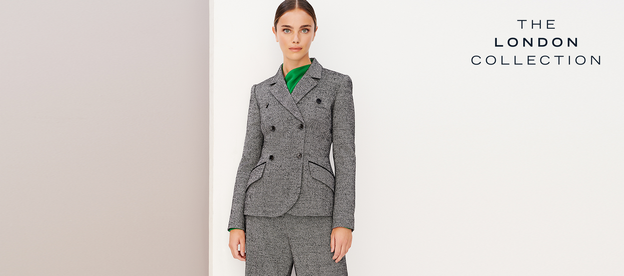 London Collection Premium Grey Suit