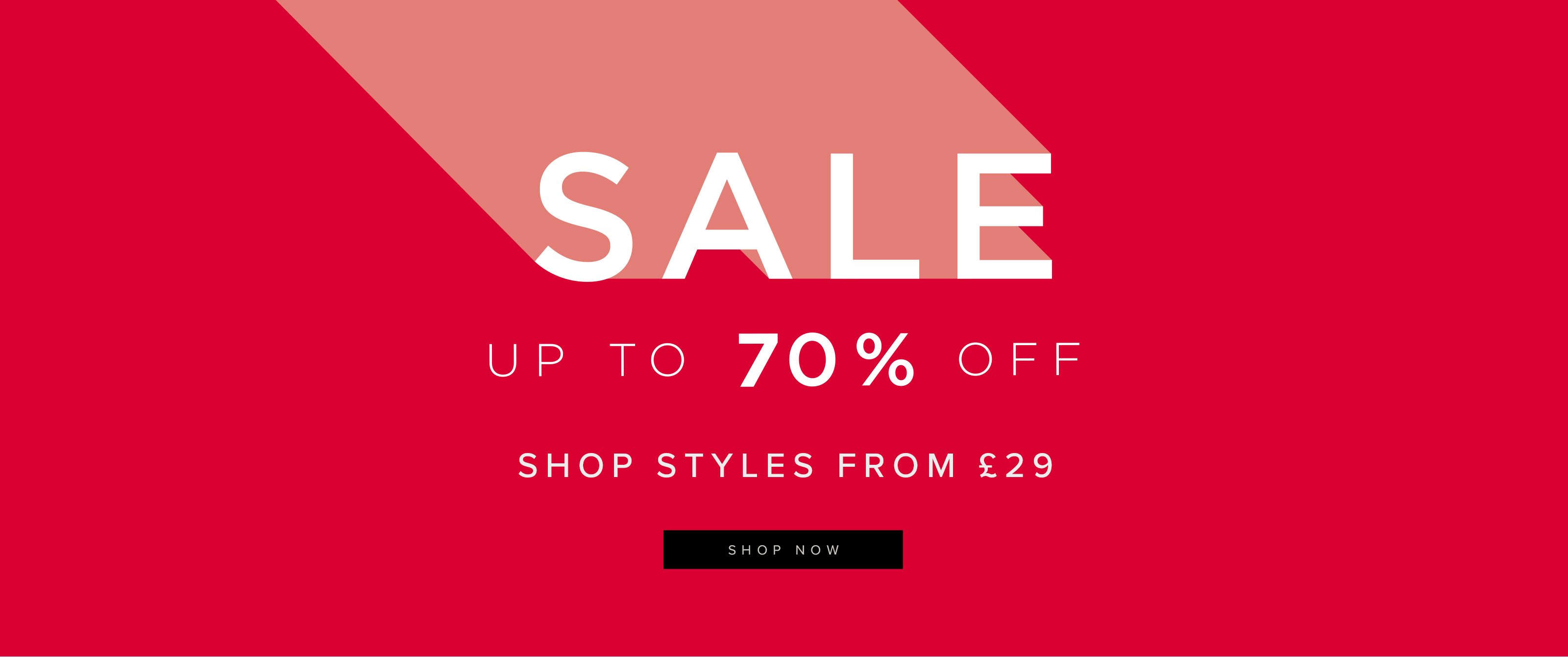 Sale Lines From 29 Pounds