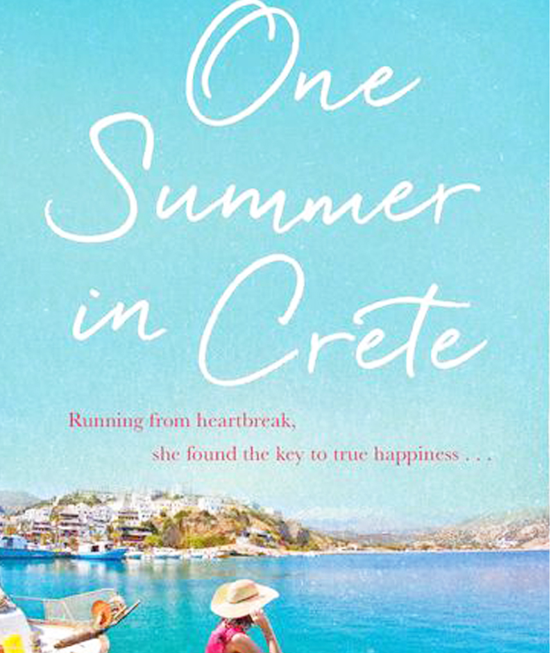 Pure escapism to the idyllic Grecian shore, with One Summer in Crete by Nadia Marls