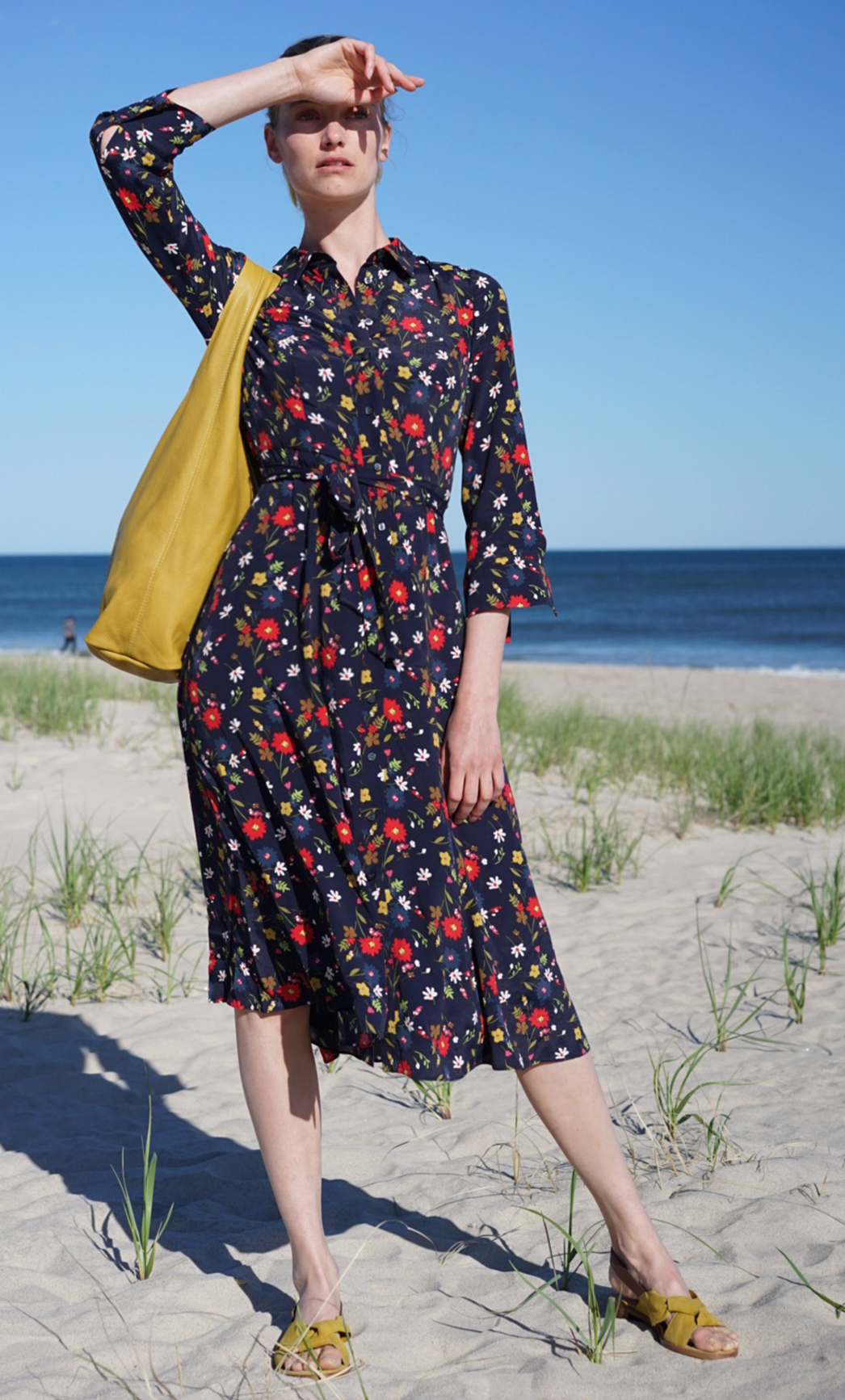 Soak up the sun in our Hobbs marie floral print sundress