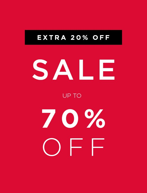 Extra 20% Off All Sale