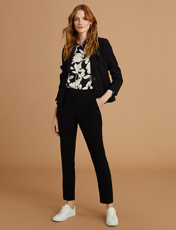 Workwear Black Suit Outfit