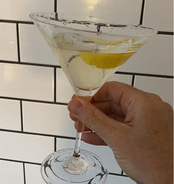Friday calls fro a martini with a twist