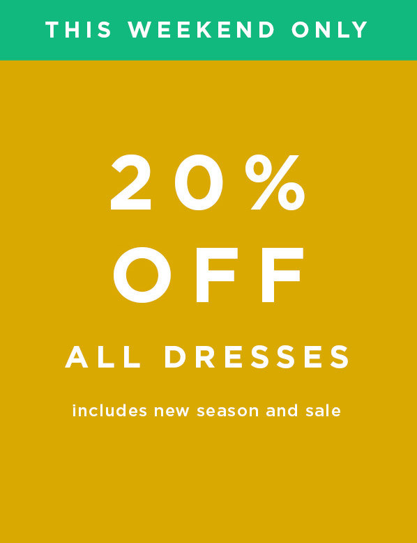 This Weekend Only: Hobbs Extra 20% Off All Dresses