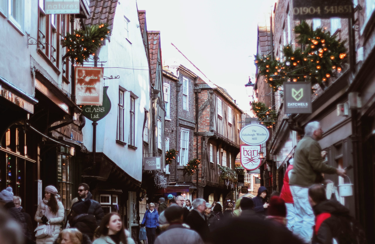 The Shambles Street In York