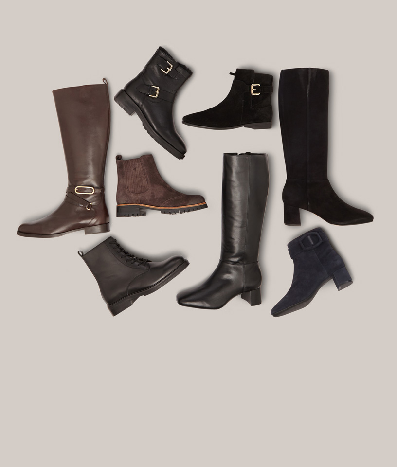 Assorted Long and Ankle Boots