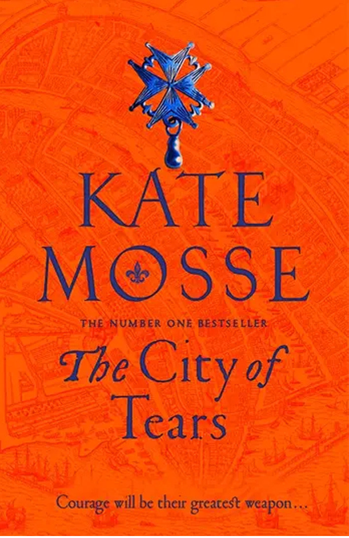 The cover of Kate Mosse's book The City of Tears.