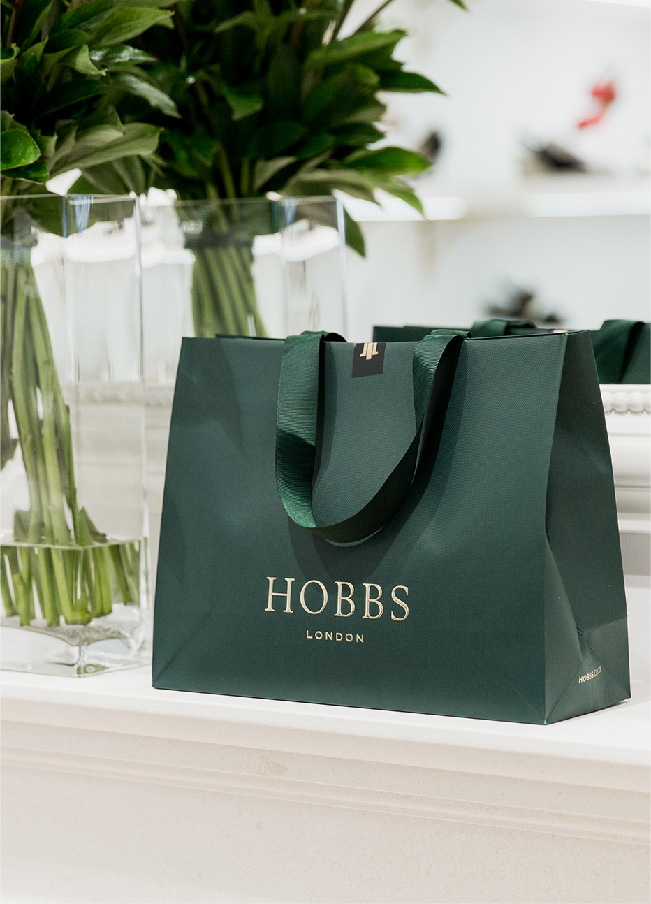 The Hobbs flasgship store in Covent Garden, London.