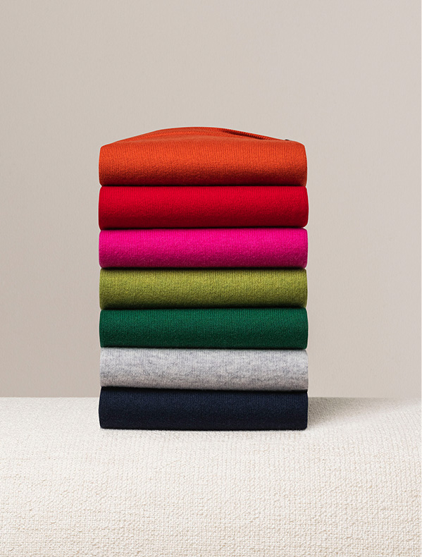 Cashmere Jumpers Stack