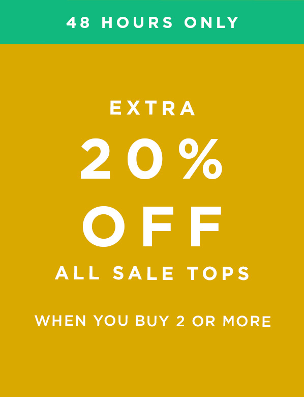 Hobbs Extra 20% Off All Sale Tops When You Buy 2 Or More
