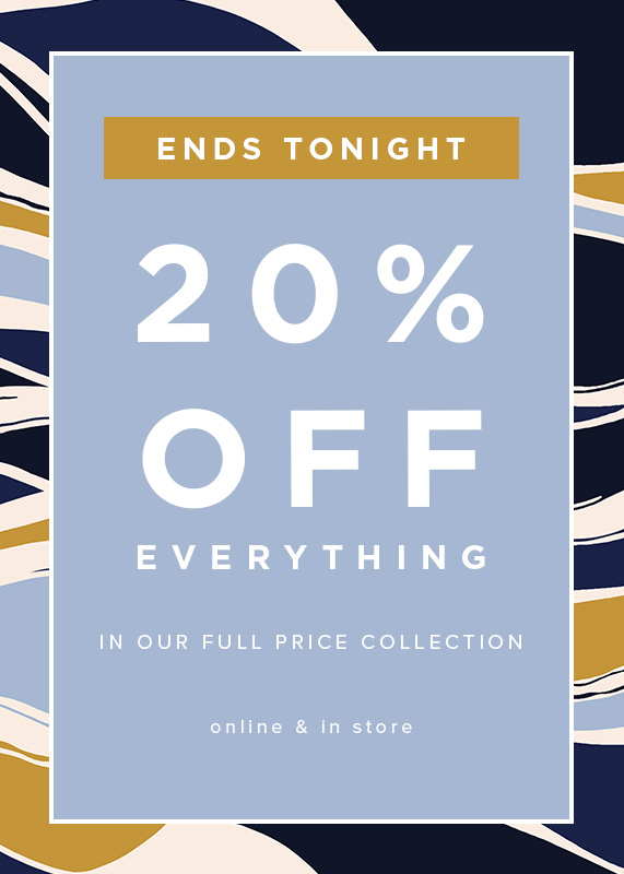 Hobbs 20% Off Everything Full Price