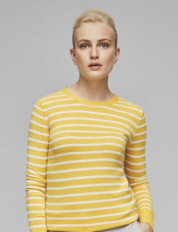 Yellow Striped Jumper