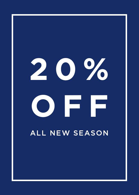 Hobbs 20% Off New Season