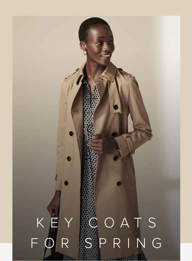 Hobbs Key Coats For Spring