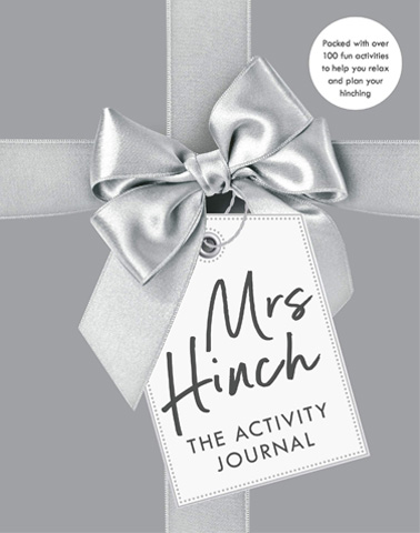 Gorgeous In Grey, The Mrs Hinch Activity Journal