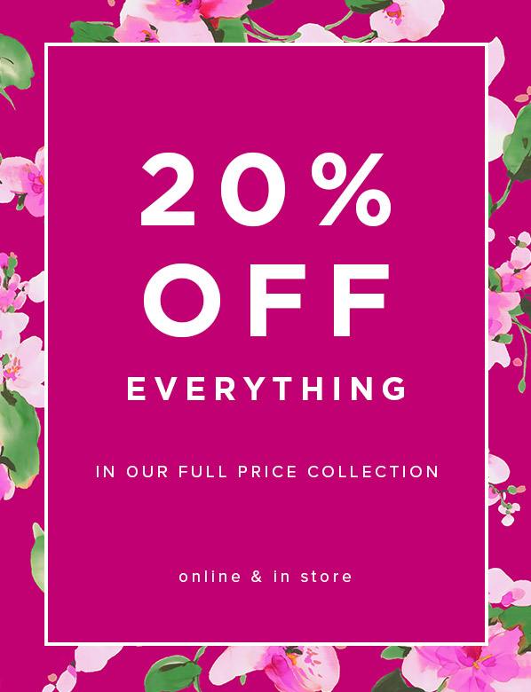 Hobbs 20% Off Full Price Promotion