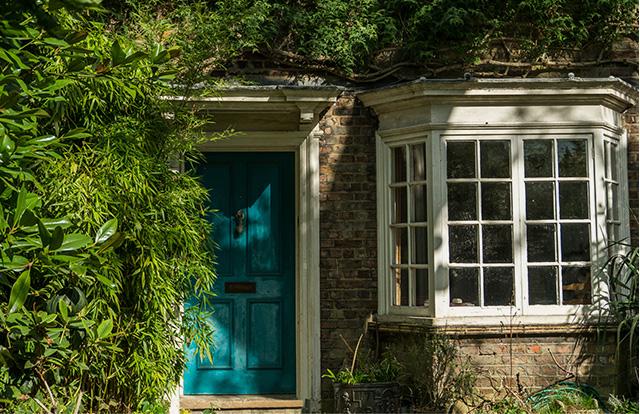 A Blue Front Door