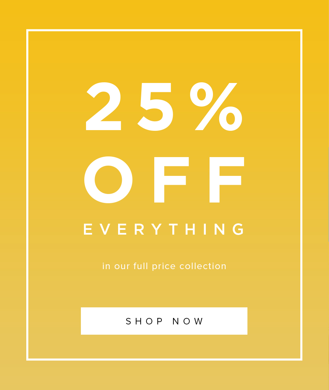 Hobbs 25% Off Full Price