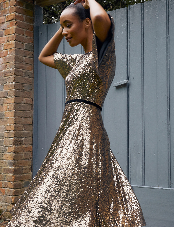 Sparkly Sequin Dress New In