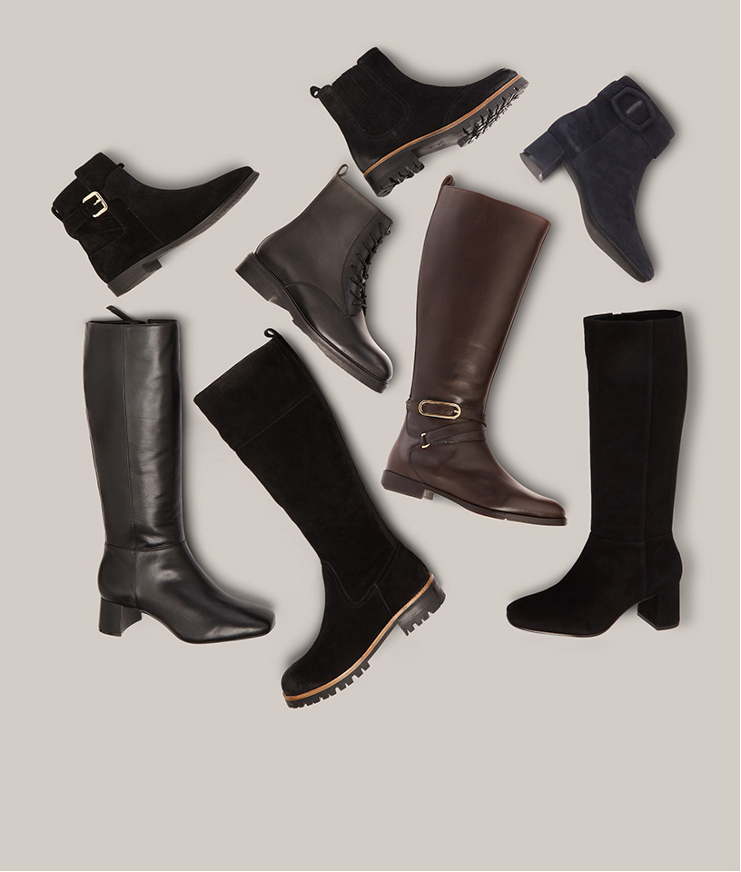 Assorted Ankle and Long Boots