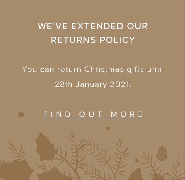 returns policy banner
