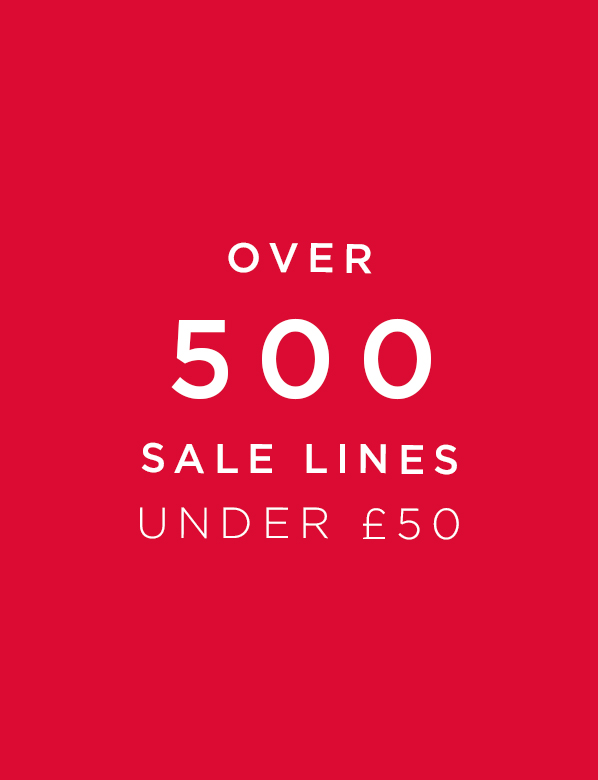 Sale Up To 70% Off. Over 500 Sale Lines Under £50
