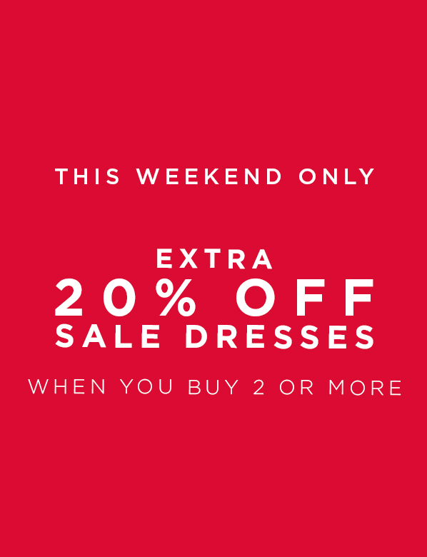 Sale Dresses Buy 2 or more and save 20%