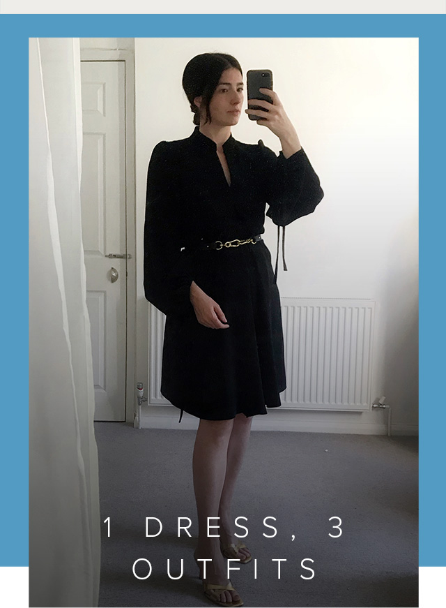 Hobbs brand stylist shows us how to style the black natasha dress three ways