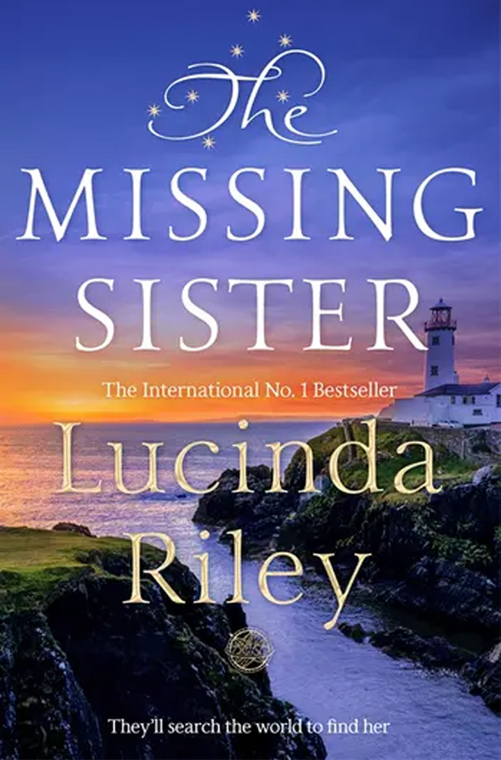 The cover of The Missing Sister by Lucinda Riley.