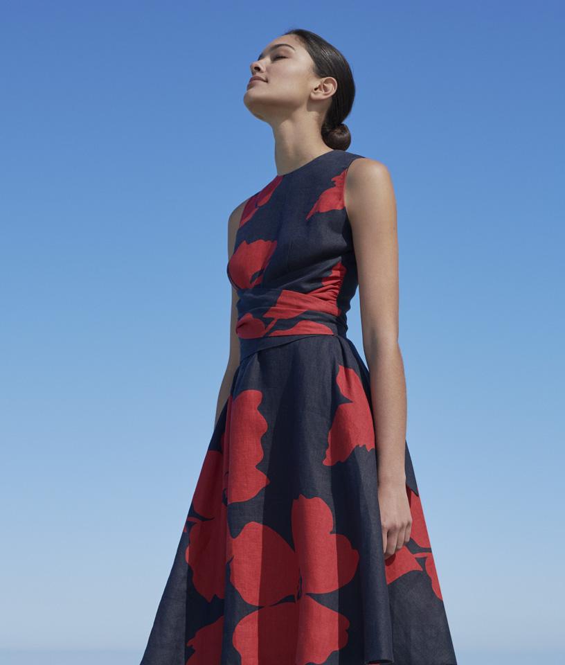 Navy Sleeveless Dress