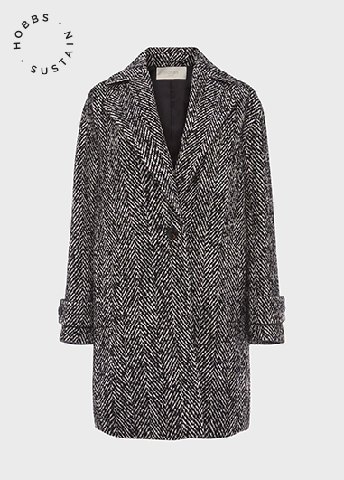 CARMEN COAT GREY