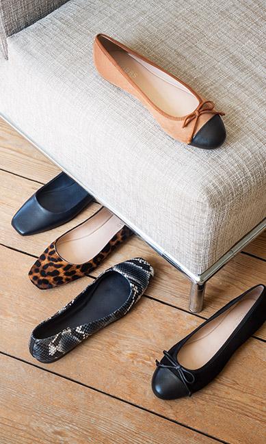 Assorted Flat Ballerina Shoes